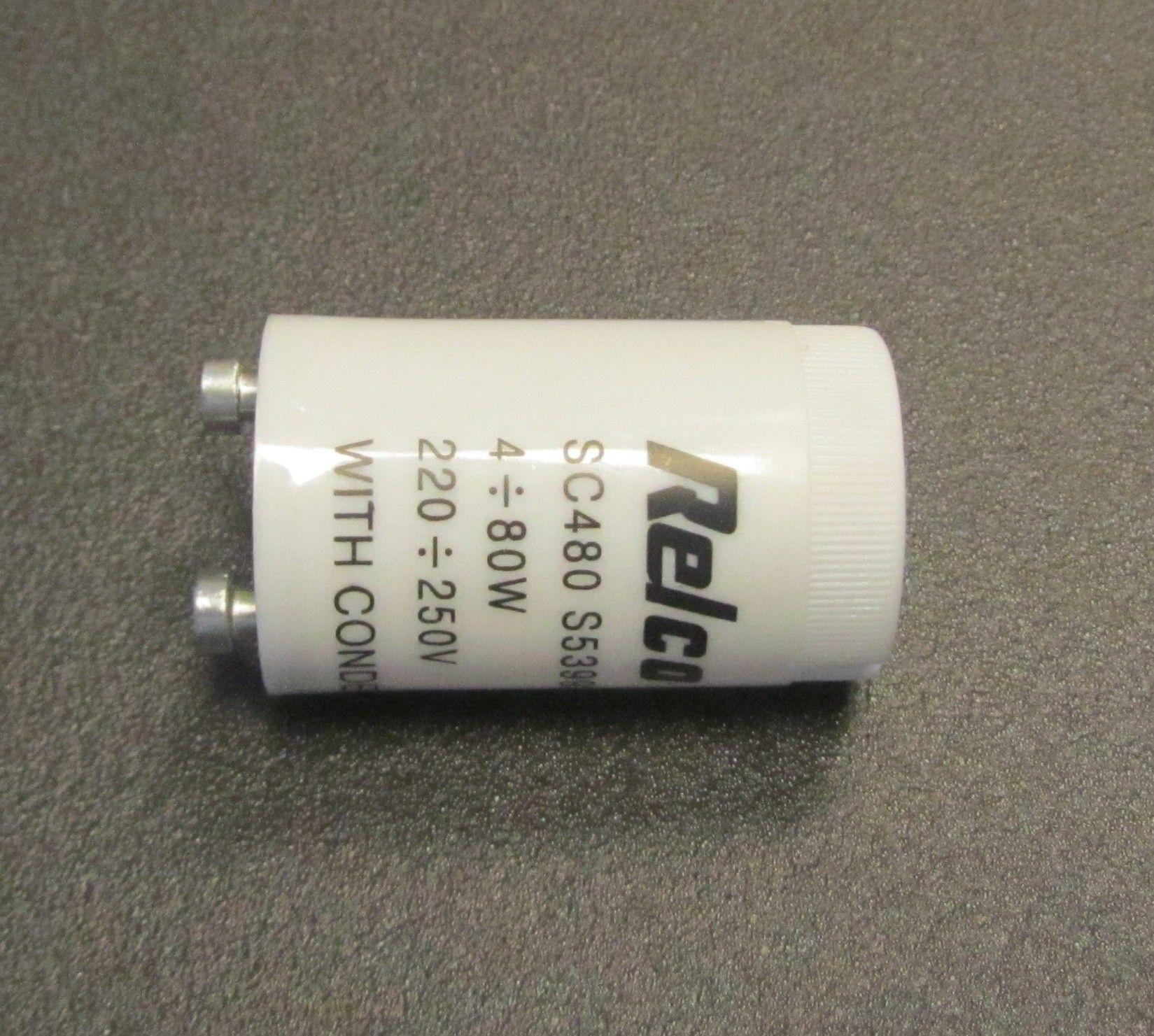 Glimtænder 4-65 Watt.