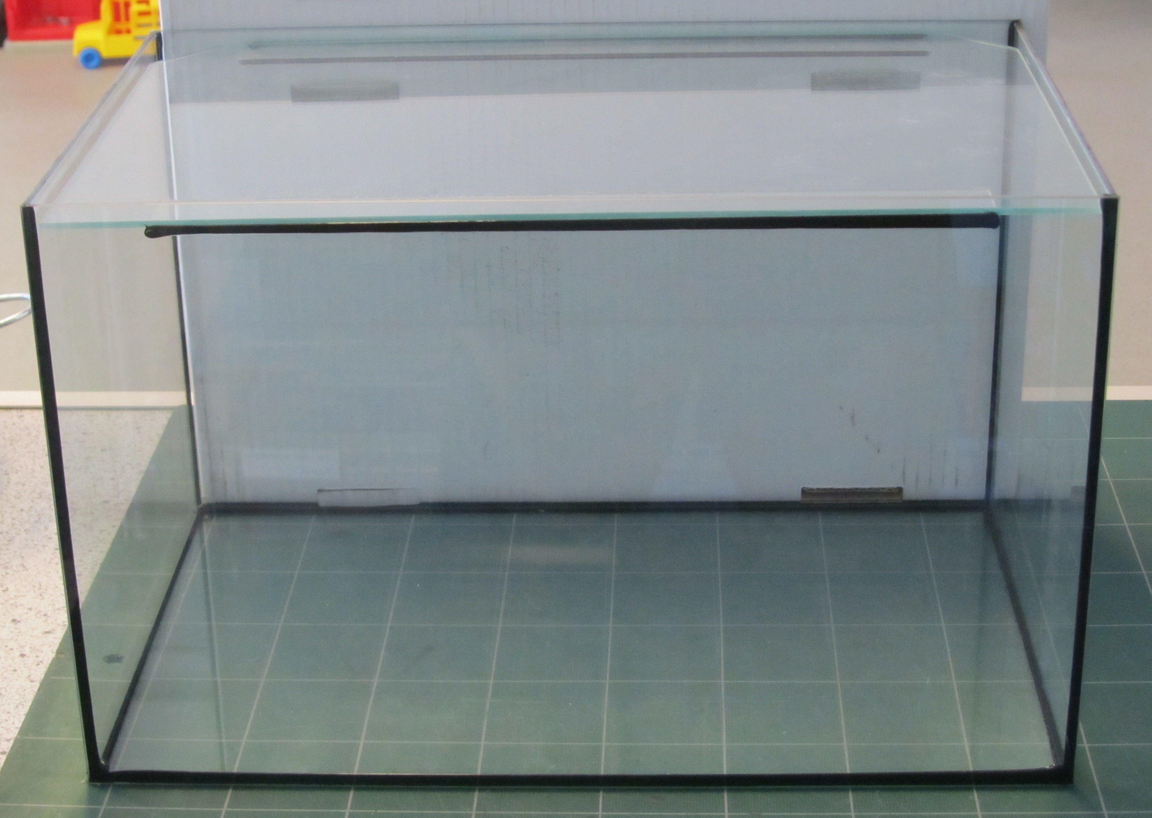 Glas Akvarie 25 Ltr.