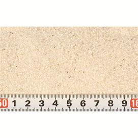 Hvid Cichlide sand 25 kg.