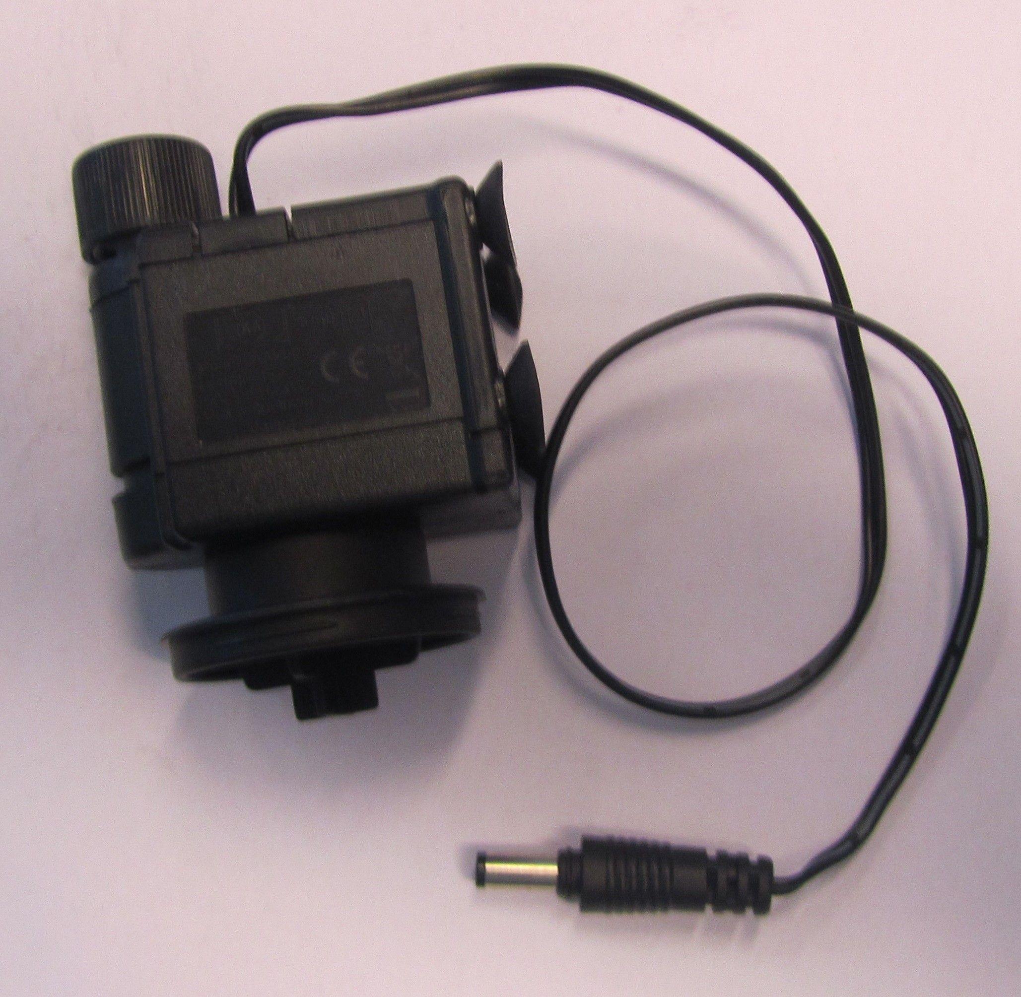 Pumpe til 5,5 ltr. Aquabox