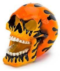 Kranium stort orange.