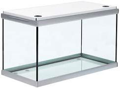 Akvastabil Move 160 Liter akvarium med hvidt låg