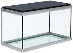 Akvastabil Move 160 Liter akvarium med sort låg