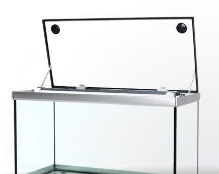 Akvastabil Move 275 Liter akvarium med hvidt låg