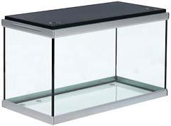 Akvastabil Move 275 Liter akvarium med sort låg