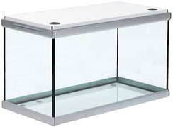 Akvastabil Move 360 Liter akvarium med hvidt låg