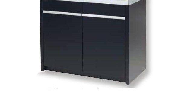 Akvastabil Move Kabinet til 160 liter. sort