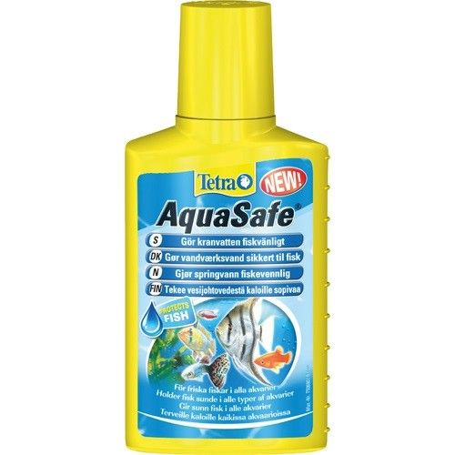 Tetra Aquasafe til opstart. 250 ml.