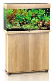 Juwel Rio 125 liter lyst træ med underskab og Ledlys