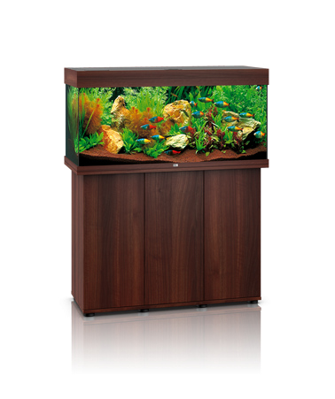 Juwel Rio 180 liter brun med underskab og Ledlys