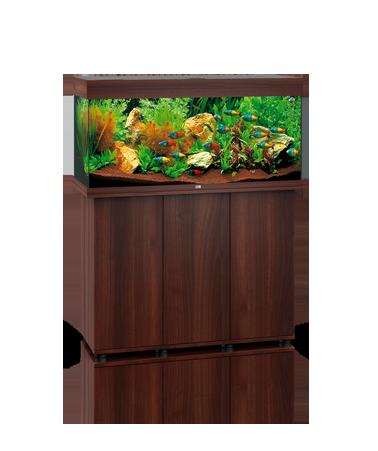 Juwel Rio 240 liter brun med underskab og Ledlys