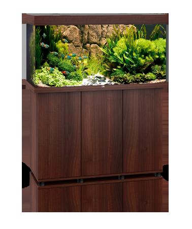 Juwel Rio 350 liter brun med underskab og Ledlys