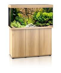 Juwel Rio 350 liter lyst træ med underskab og Ledlys