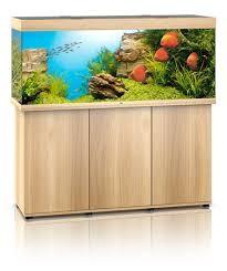 Juwel Rio 450 liter lyst træ med underskab og Ledlys