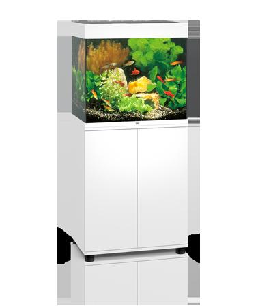 Juwel Lido akvarie 120 liter hvid med underskab og Ledlys