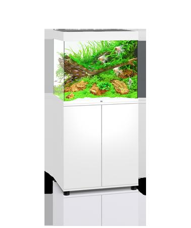 Juwel Lido akvarie 200 liter hvid med underskab og Ledlys