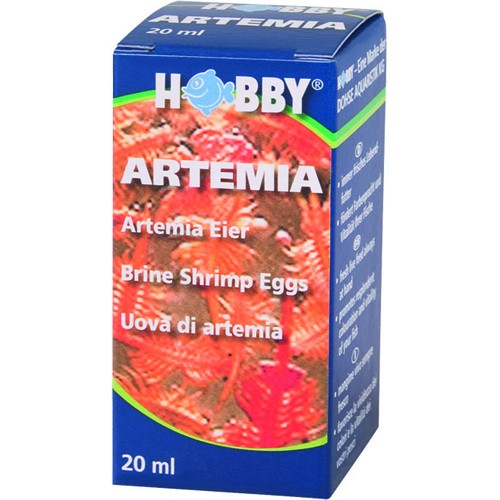 Artemia æg 20 ml.