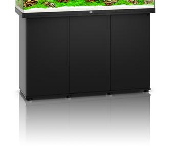 Sort Akvarie underskab til 240 liter rio model
