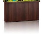Mørkt træ farvet Akvarie underskab til 450 liter rio model