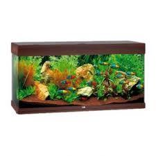 Juwel Rio Akvarie 125 liter Mørkt træ med Ledlys