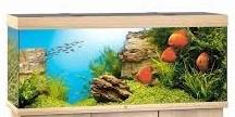 Juwel Rio Akvarie 450 liter lyst træ med Ledlys