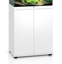 Hvidt akvarie underskab til 120 liter Lido model