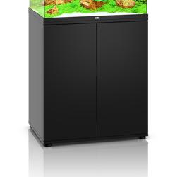 Sort akvarie underskab til 120 liter Lido model