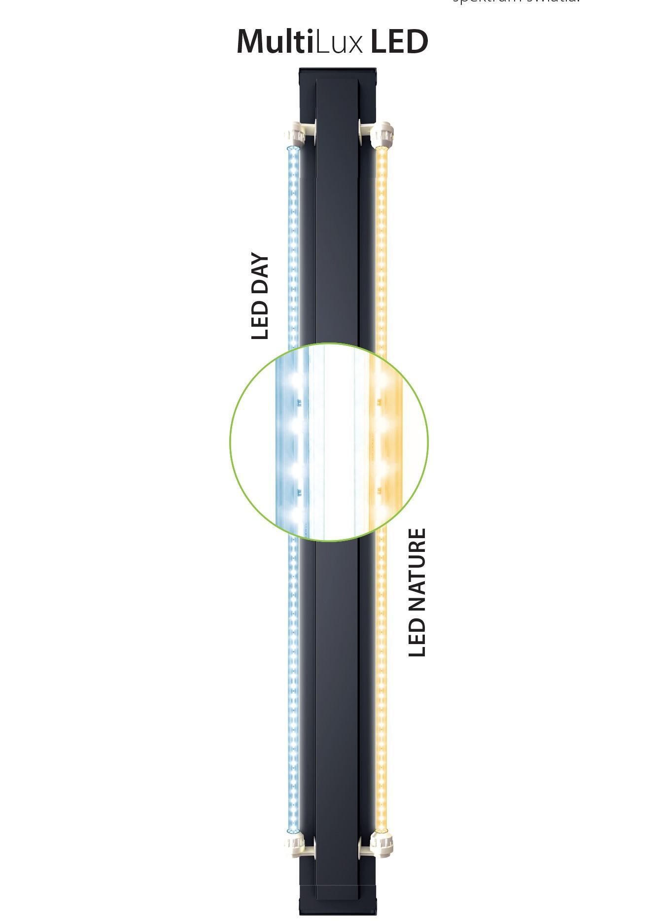 Juwel vision Akvarie 450 liter lyst træ med Ledlys