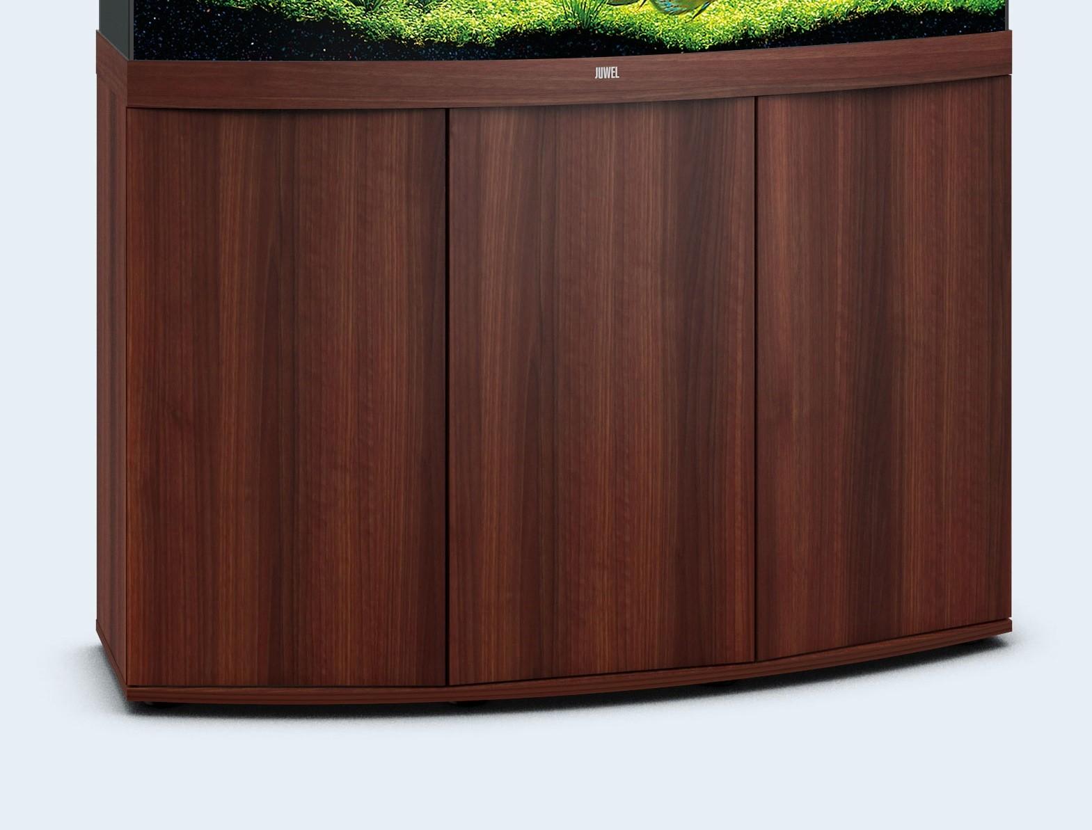 Mørkt træ Akvarie underskab til 260 liter Vision model