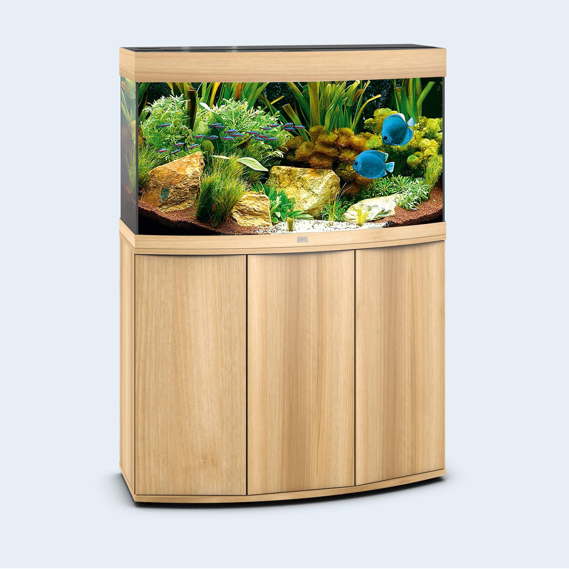 Juwel vision 180 liter lyst træ med underskab og Led