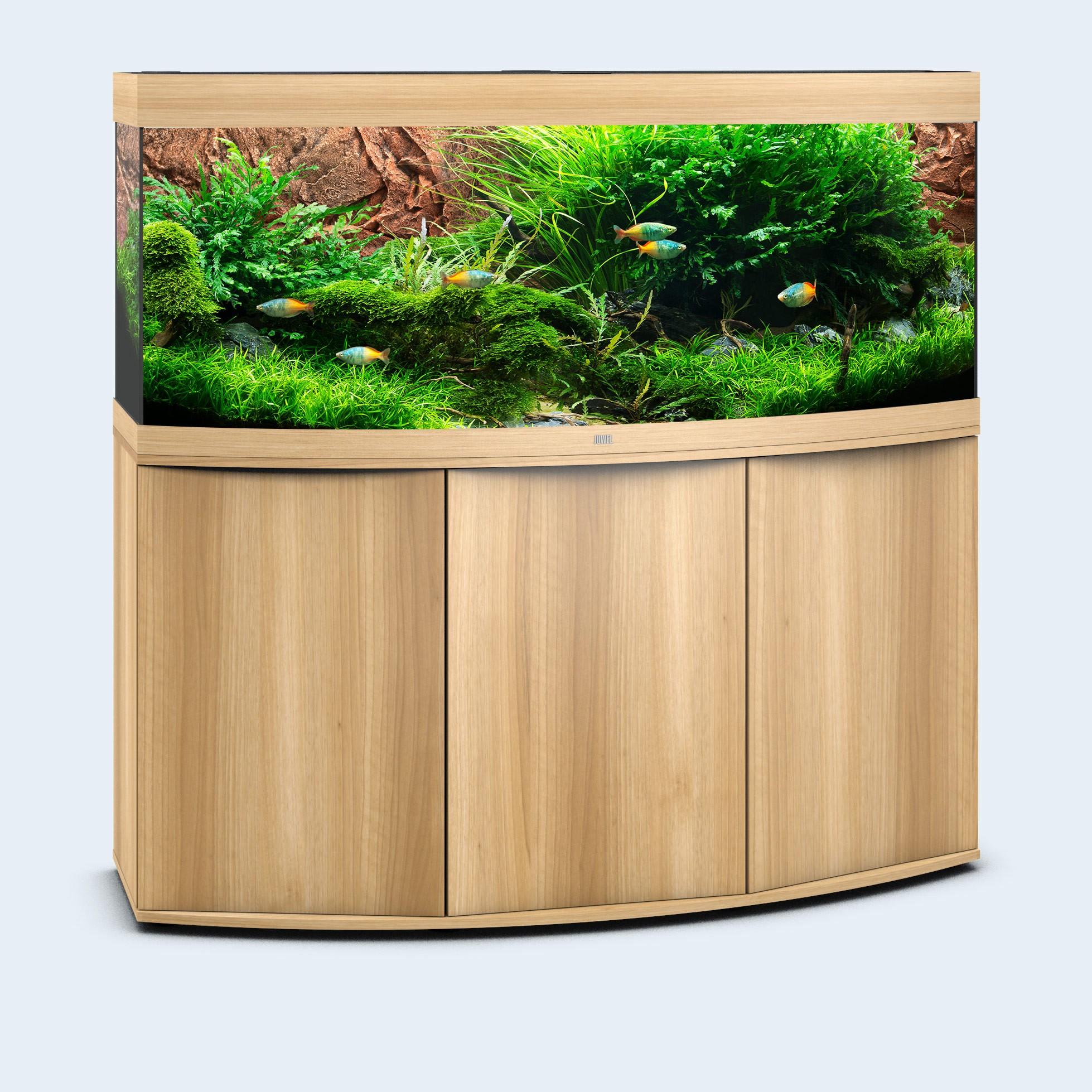 Juwel vision 450 liter lyst træ med underskab og Ledlys