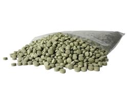 Grøn mallepille 1 KG.