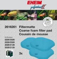 Eheim blå filtersvampe til professionel ll pumper og Experience 350