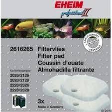Eheim Hvide filtersvampe til professionel ll pumper og Experience 350