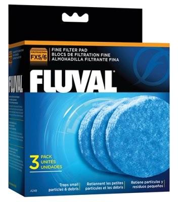 Fluval Fine filter pad til FX 4-5-6 spandpumper.