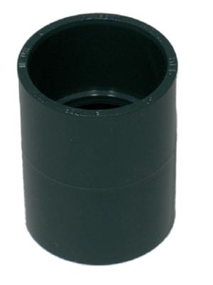 PVC Muffe 25 mm.