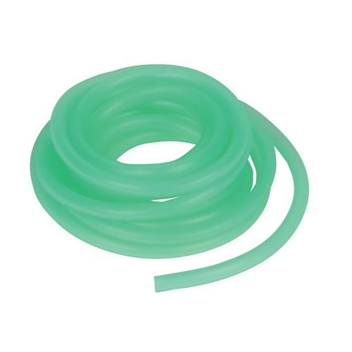 Luftslange grøn silikone. 2,4 Meter