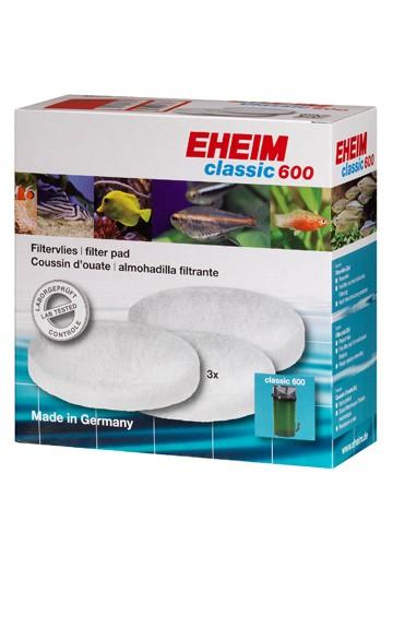 Eheim Hvide filtersvampe til Classic 600 pumpe